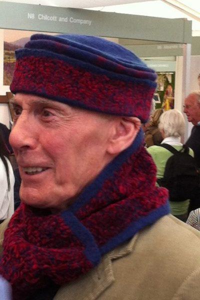 Cap met bijpassende sjaal