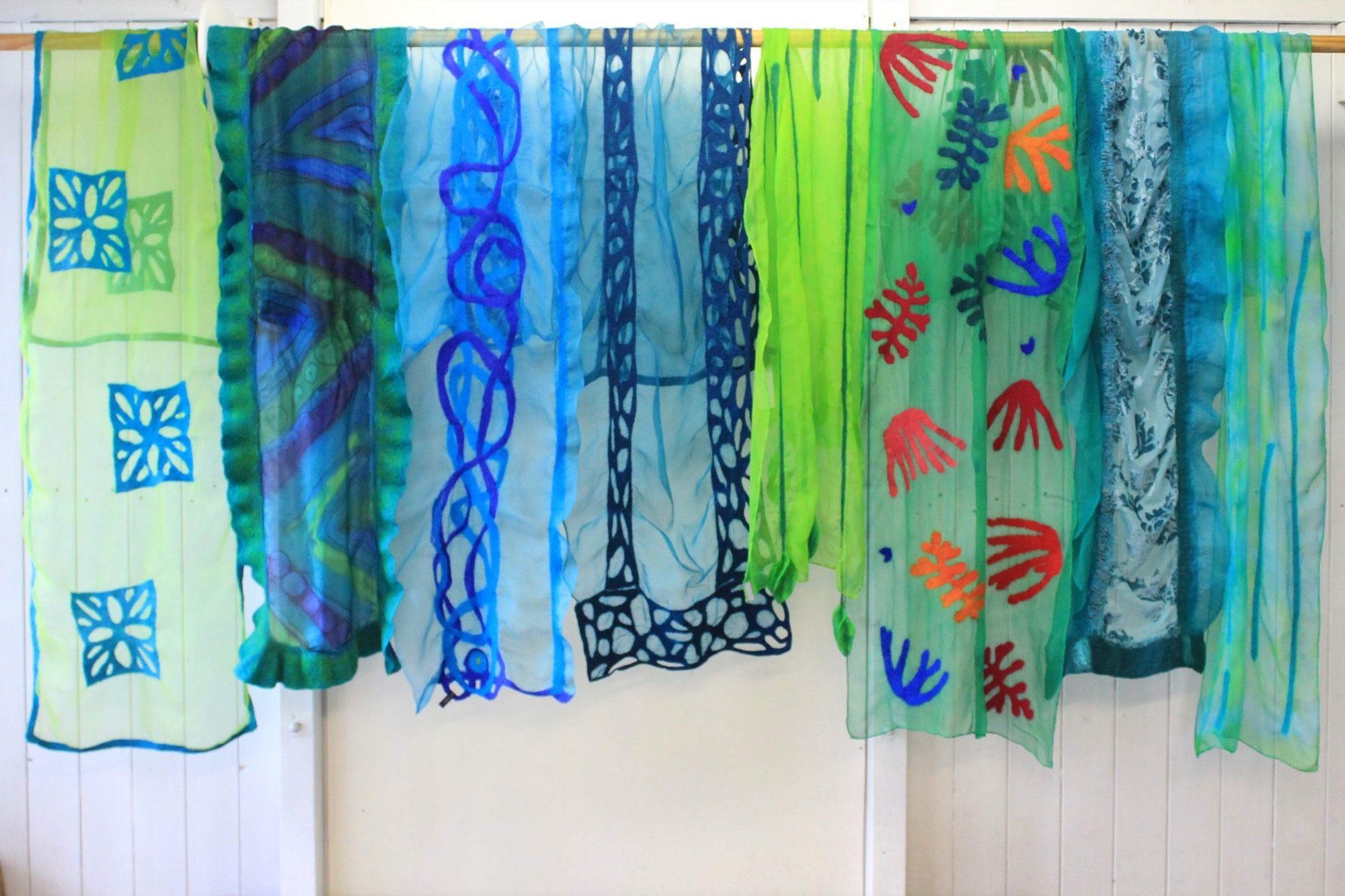 sjaals groen slider